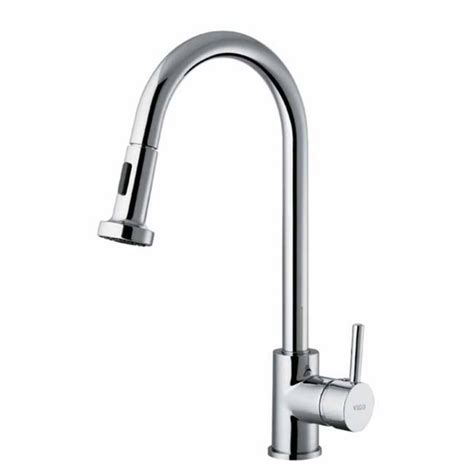 kitchen faucet with spray vigo vigo chrome pull out wide spray kitchen faucet