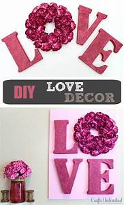 love decor tutorial valentines wall art crafts unleashed With love decor letters