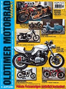 Motorrad Oldtimer Zeitschrift : oldtimer motorrad markt fachzeitschrift motorrad bike ~ Kayakingforconservation.com Haus und Dekorationen