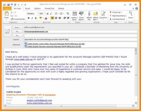 how to write follow up email after application