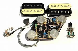 Gibson Les Paul Modular Electronics Kit Burstbucker 2 And