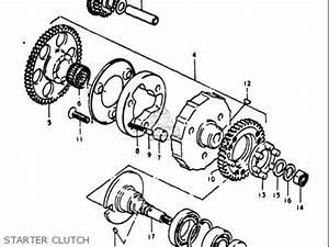 suzuki gt750 1972 usa parts list partsmanual partsfiche With diagram of suzuki motorcycle parts 1972 ts125 kick starter diagram