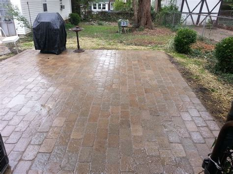 cost of brick pavers paver patio designs and cost patio design ideas