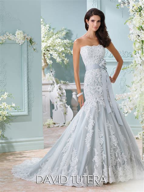 blue wedding gown david tutera wedding dresses 116225 thea