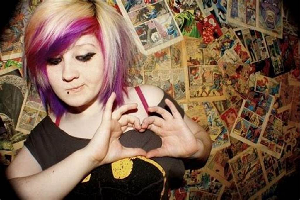 #Cute #Scottish #Emo #Girl