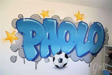 graff chambre paolo chambre le petit graff décoration graffiti