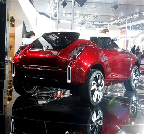 Mg Icon Concept Car Star Of Bejing Auto Show