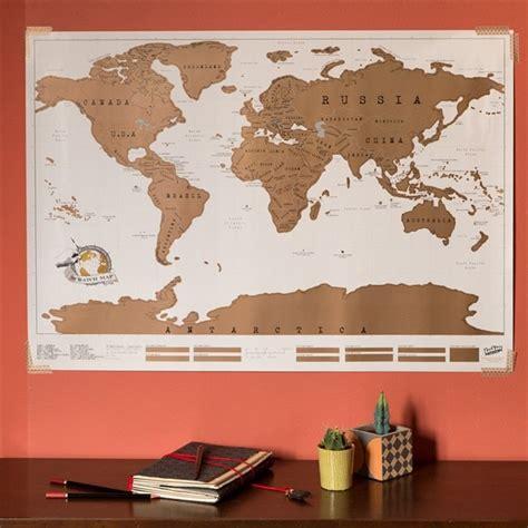 Carte De A Gratter Nature Et Decouverte carte du monde 224 gratter nature d 233 couvertes