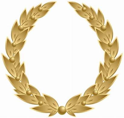 Wreath Gold Transparent Clip Graduation Clipart Webstockreview