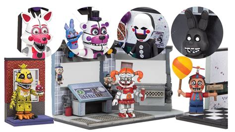 New Set 3 Art Wall Sticker 3d Decals Removable Mural Home: McFarlane Toys FNAF Wave 3 Photos