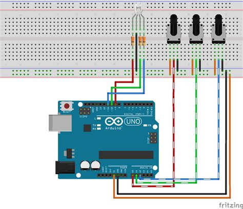 Color Mixer Arduino Color Mixer Hackster Io