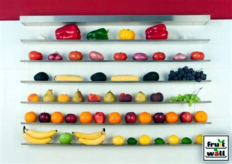 vegetable storage organize practical wall shelf for fruits and vegetables