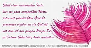 Geburtstagswünsche für Frauen Grüße und Sprüche zum