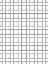 Coloring Quilt Block Pattern Sheets Crazy Template Pages sketch template