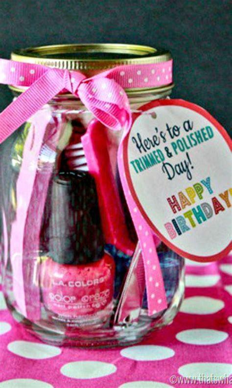 jar gifts birthday tags    jar  pinterest