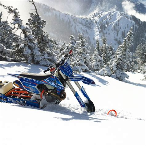 Timbersled Snow Bike Graphic Kits Image Gallery