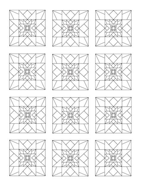 quilt block coloring pages quilts  quilt blocks