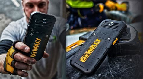 dewalt launches  md rugged android smartphone