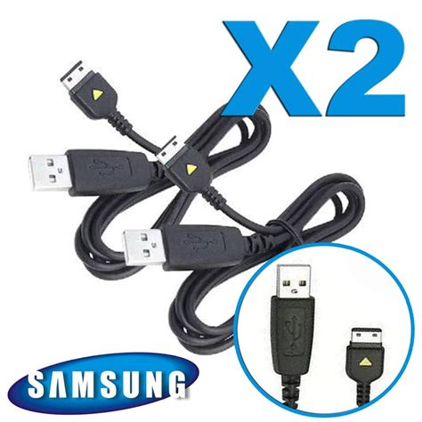 two new samsung m300 usb sync charging data link cable s20 pin apcbs10ube ebay