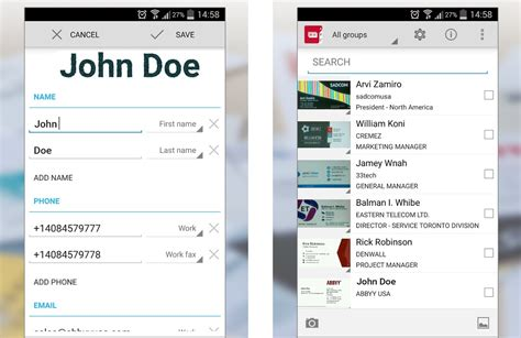Six Android Business Card Scanner Apps For Your Crm