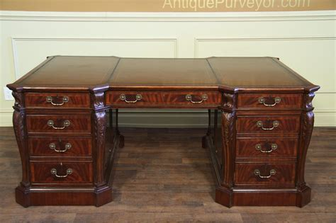 antique leather top desk antique desk with leather top antique furniture