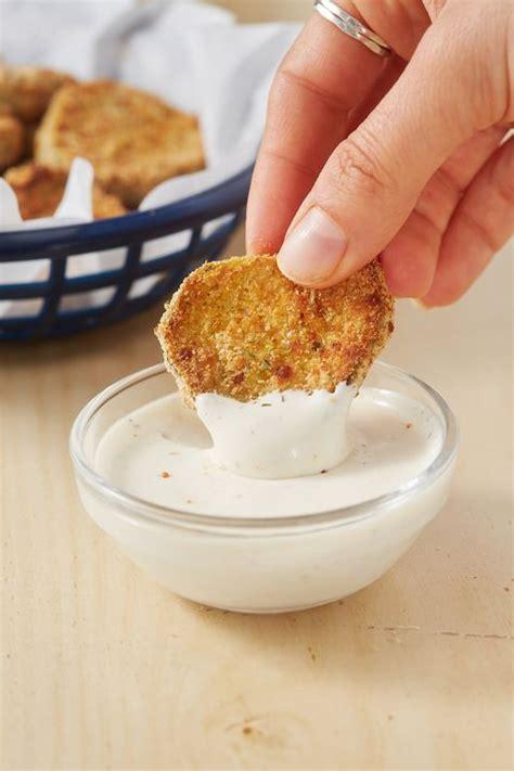 air fryer pickles fried delish recipe keto bread recipes soda irish feierbach park almond flour