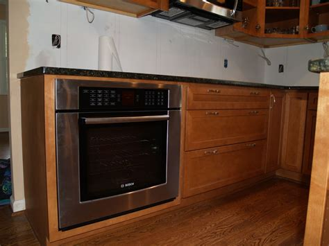 kitchen cabinet for wall oven wall oven cabinet rustic hickory with dual wall ovens