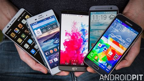 Diese Smartphones Nutzt Die Androidpitredaktion Androidpit