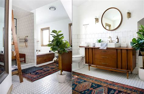 Vintage Modern Bathroom Design by 20 Stylish And Relaxing Bohemian Bathroom Designs Koby