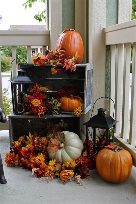 Decorating Ideas For Fall 2015 by 27 Best Fall Porch Decorating Ideas And Designs For 2019