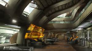 Mass Effect 3. Official Concept Art. Futuristic Interior ...