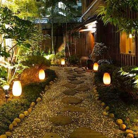 diy pathway lighting ideas  garden  yard