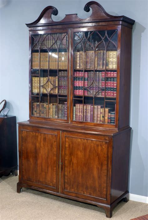 library cabinets bookcases antique oak library bookcase