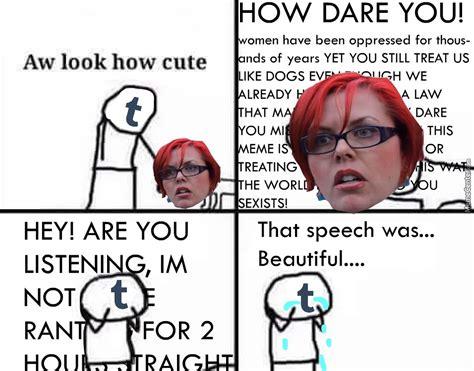 Funny Sexist Memes - oh look another feminist joke by daaaaamn meme center