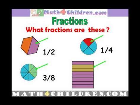 st grade fractions lesson math  children