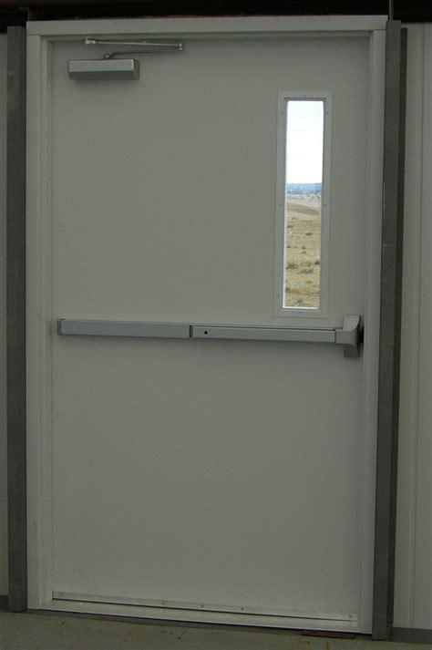entry doors hollow metal doors rice equipment  loading dock door service