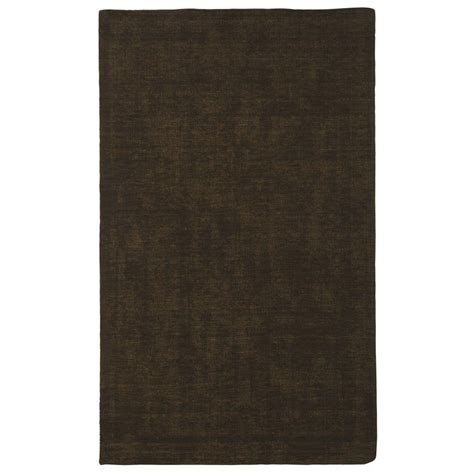 5 8 Area Rugs by Sams International Basics Medium Brown 5 Ft X 8 Ft Area