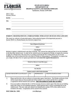 Florida Vessel Registration Search by 2009 Form Fl Hsmv 83060 Fill Printable Fillable