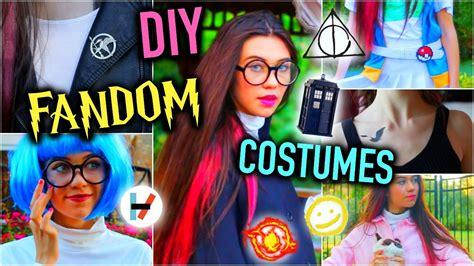 Diy Fandom Last Minute Halloween Costume Ideas!