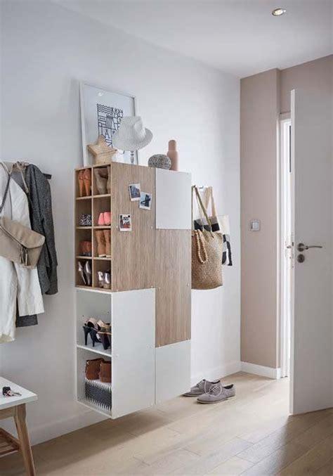 rangements entr 233 e http www m habitat fr petits espaces entrees et couloirs rangements et