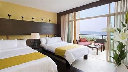 Hotel Bed Modern Background 1080p