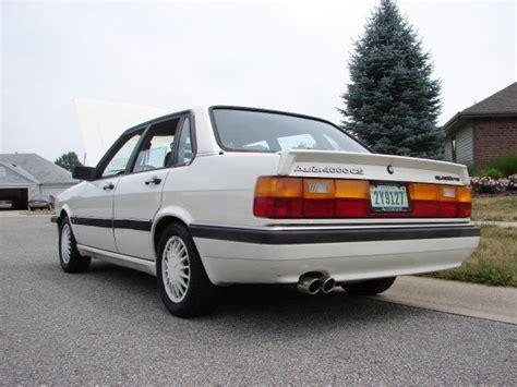auto manual repair 1986 audi 4000s quattro electronic throttle control 1986 audi 4000 pictures cargurus
