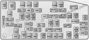 Fuse Box Diagram Opel  Vauxhall Antara  2007