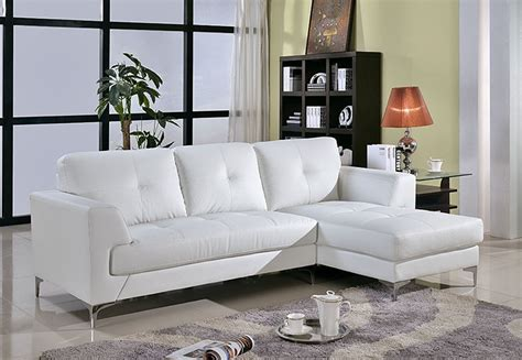 White Living Room Leather Furniture by 15 Best Ideas Of White Leather Sofas