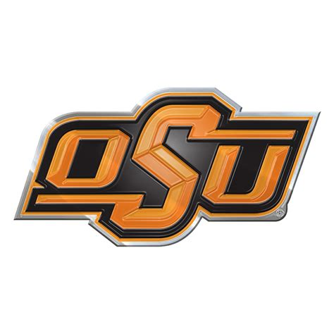 oklahoma state colors oklahoma state cowboys color emblem car or truck decal
