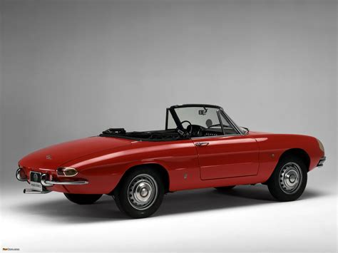 1967 Alfa Romeo Spider by Wallpapers Of Alfa Romeo Spider 1600 Duetto 105 1966 1967