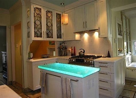 exciting kitchen countertops include led lights condoca