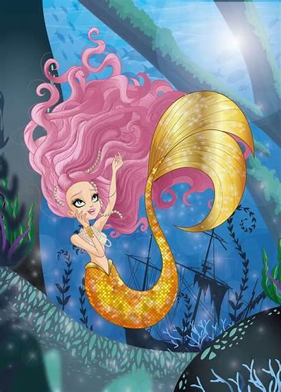Ever Mermaid Meeshell Artstation Olmos Azael Sirena