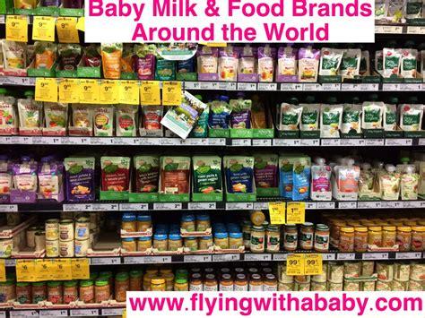 Baby Milk Baby Food Brands Found Around The World