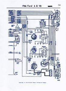 1965 Ford Truck Alternator Wiring Diagram